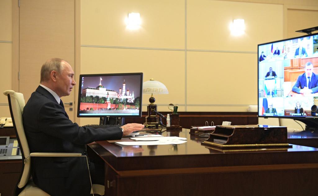 Владимир Путин выступил с обращением перед членами Правительства